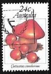 Sellos de Oceania - Australia -  Setas - Cortinarius cinnabarinus