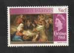 Stamps : Europe : United_Kingdom :  Islas Caiman - 208 - Navidad, La Adoración de los Reyes