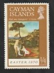 Sellos del Mundo : Europa : Reino_Unido : Islas Caiman - 253 - Pintura de Titian