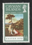 Sellos del Mundo : Europa : Reino_Unido : Islas Caiman - 254 - Pintura de Titian