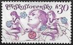 Sellos de Europa - Checoslovaquia -  Spartakiad 1975, Prague