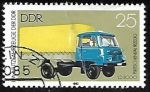 Stamps Germany -  Flatbed Truck LD 3000