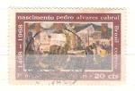 Sellos de America - Brasil -  RESERVADO Pedro Alvares Cabral
