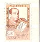 Sellos del Mundo : America : Venezuela : Romulo Gallegos