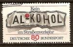 Stamps Germany -  977 - Campaña contra el alcohol al volante