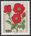 Stamps Germany -  985 - Rosas