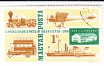 Stamps : Europe : Hungary :  MUSEO DEL TRANSPORTE