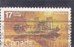 Sellos del Mundo : America : Canadá :  AVIÓN CURTISS HS-2L