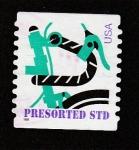 Stamps United States -  Yipo de franqueo para cartas