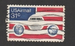 Stamps United States -  Aviones