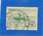 Stamps Peru -  Industria Pesquera