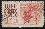 Sellos de America - México -  Oaxaca, Danza de la Pluma