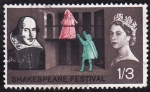 Stamps United Kingdom -  Shakespeare Festival