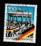Sellos de Europa - Alemania -  9/11/1989 Caida del muro de Berlín