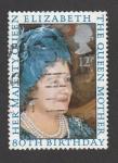 Sellos de Europa - Reino Unido -  80 cumpleaños de la reina madre