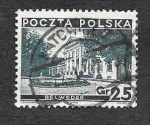 Stamps : Europe : Poland :  298 - Palacio Belweder
