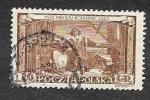 Stamps : Europe : Poland :  578 - 480 Aniversario del Nacimiento de Nicolás Copernicus