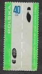 Stamps : Europe : Poland :  1693 - Seguridad del Tráfico