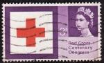 Stamps United Kingdom -  Cruz Roja
