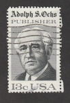 Stamps United States -   Adolph S. Ochs, editor