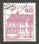 Sellos de Europa - Alemania -  878 - Castillo de Rheydt (con número de control)