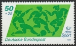sello : Europa : Alemania : 896 - Fútbol