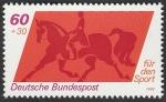 sello : Europa : Alemania : 897 - Equitación