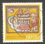 Sellos del Mundo : Europa : Alemania :  912 - Navidad, Nacimiento de Jesús