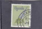 Stamps : Africa : Uganda :  FLORES-