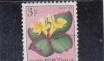 Stamps : Africa : Democratic_Republic_of_the_Congo :  FLORES- costus