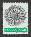 Stamps : Europe : Poland :  1822 - Arte Popular