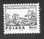 Stamps : Europe : Poland :  2071 - Dibujo