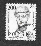 Stamps : Europe : Poland :  2744 - Cabeza de Wawel