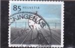 Stamps Switzerland -  PUNTUALIDAD FERROVIARIA
