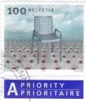 Stamps : Europe : Switzerland :  SILLA DE DISEÑO
