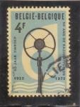 Stamps Belgium -  50 ANIVERSARIO RADIODIFUSIÓN 1923-1973