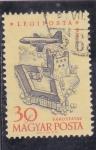 Stamps Hungary -  AVION SOBREVOLANDO SAROSPATAK