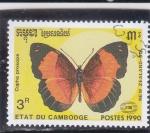 Stamps : Asia : Cambodia :  MARIPOSA