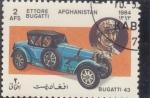 Stamps : Asia : Afghanistan :  COCHE DE EPOCA- BUGATTI 43
