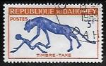 Sellos de Africa - Benin -  Spotted Hyena