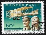 Stamps : Europe : Hungary :  J. Alcock and R. W. Brown