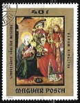 Stamps : Europe : Hungary :  Reyes Magos