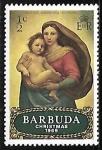 Sellos del Mundo : America : Antigua_y_Barbuda : Madonna - Rafael