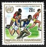 Sellos de Africa - Rwanda -  Atletismo -  Carreras y Corredores |