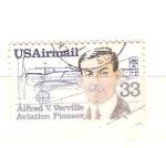 Sellos de America - Estados Unidos -  pionero de la aviación