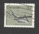 Sellos de America - Canadá -  Arado de madera