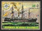 Sellos del Mundo : Africa : Guinea_Ecuatorial : Veleros - Gloria (1859)