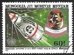 Sellos del Mundo : Asia : Mongolia : Sputnik 2