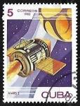 "Stamps : America : Cuba :  Spacecraft ""Mars-2"" (USSR), 1971"