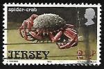 Stamps : Europe : Jersey :  Cangrejos
